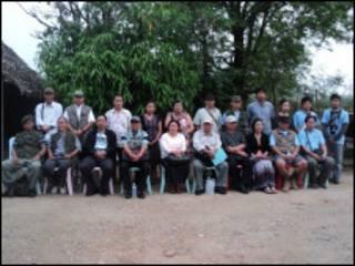 ဘားအံရောက် ကေအန်ယူငြိမ်းချမ်းရေးအဖွဲ့ဝင်များ