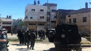 القوات الإسرائيلية في الخليل