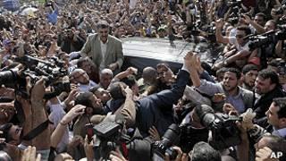 حشد من الاسلاميين