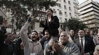 مظاهرات في القاهرة