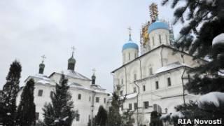 Новоспасский мужской монастырь в Москве