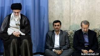 رهبر، رئیس جمهور و رئیس مجلس ایران