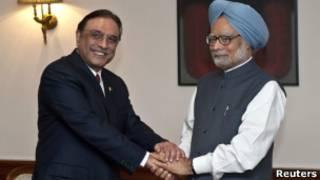 Президент Пакистана и премьер-министр Индии