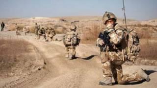 جنود بريطانيون في افغاسنتان