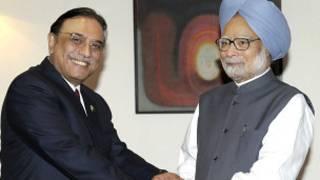 जरदारी और मनमोहन की मुलाक़ात