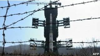 سازی کره شمالی برای پرتاب موشک دور برد