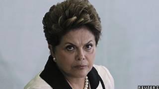 Dilma Rousseff no lançamento do plano 'Brasil Maior' (Foto: Reuters)