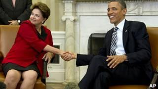 Reunión entre Obama y Rousseff