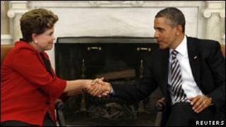 اوباما و روسف