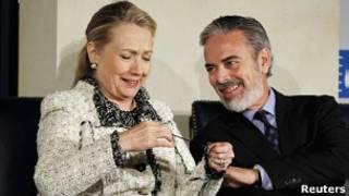 Hillary e Patriota. Reuters