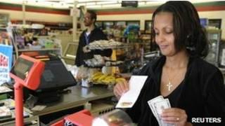 मैरीलैंड की दुकान जहां से विजेता लॉटरी टिकट खरीदा गया