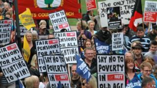 英国教师罢工