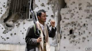 مسلح من القبائل اليمنية