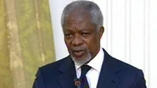 Kofi Annan, wakilin kasashen duniya a Syria