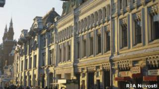 Особняк на Никольской улице в Москве