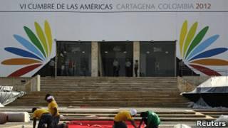 Preparaciones para la Cumbre de la Américas en Cartagena