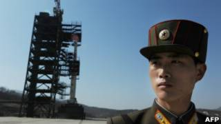 Mísseis norte-coreanos   Foto: AFP
