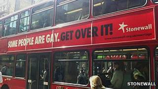 Рекламные наклейки на лондонских автобусах