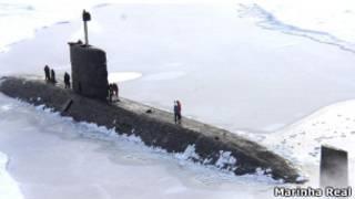 Submarino Britânico | Foto: Marinha Real