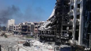 العنف في حمص