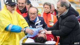 Медики пытаются спасти Морозини