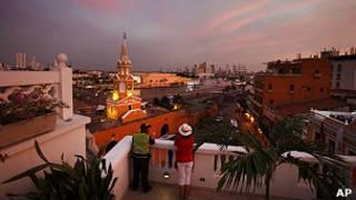 Cartagena de Indias, sede de la VI Cumbre de las Américas.