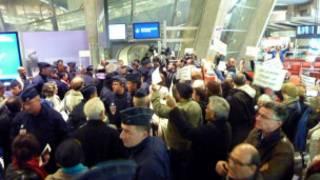 الشرطة الاسرائيلية تنتشر في مطار بن غوريون