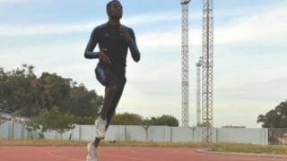 محمد خواجة اثناء التدريب