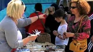 Mercado em Volos, na Grécia