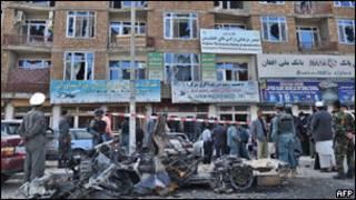 صورة أرشيفية لتفجير انتحاري
