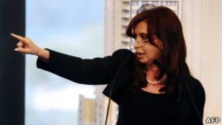 Cristina Kirchner   Foto: AFP