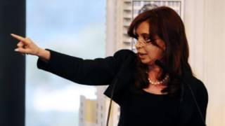 Shugabar Argentina Cristina Kirchner