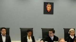 قضاة من عامة الشعب في محكمة نرويجية