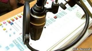 Студия радиостанции
