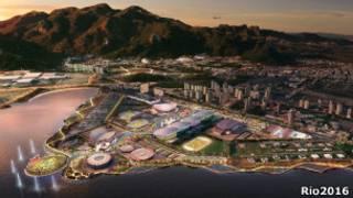 Projeto do Parque Olímpico (Foto Rio 2016)