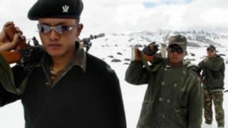 Binh sỹ Ấn Độ tuần tra tại vùng biên giới với Trung Quốc