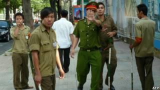 Cảnh sát và dân phòng Việt Nam