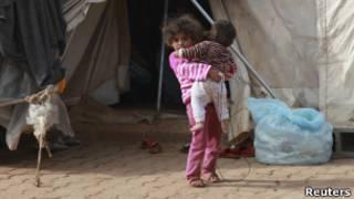 طفلة سورية