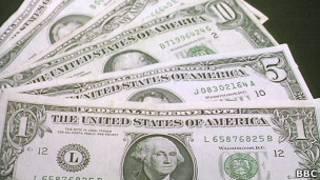 Американские долларовые банкноты