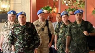 Masu sa ido na Majalisar Dinkin Duniya a Syria