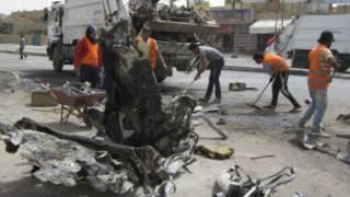 انفجار في بغداد (أرشيف)