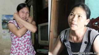 Lao động Việt trở về từ Malaysia (ảnh báo Lao Động)