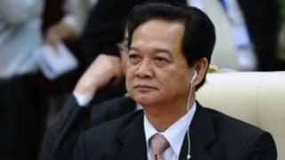 Ông Nguyễn Tấn Dũng ở hội nghị Asean tại Phnom Penh 2012