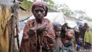 Refugiados na Somália | Foto: Reuters