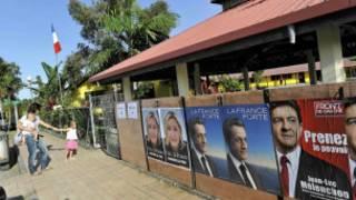 Cử tri Pháp đi bầu tổng thống ở lãnh thổ New Caledonia