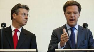 تبدو الحكومة الهولندية التي يقودها الليبراليون على شفا الانهيار، بعد إخفاقها في الحصول على تأييد لخفض الميزانية.