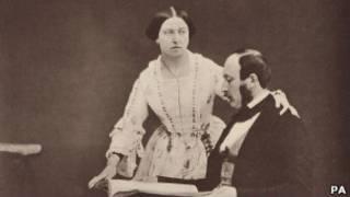 維多利亞女王與丈夫阿爾伯特親王