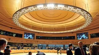 مقر اجتماع وزراء خارجية الاتحاد الأوروبي في لوكسمبورغ
