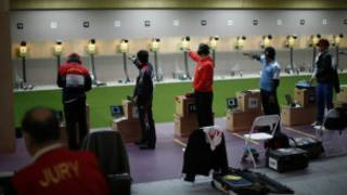 Olympic shooting event