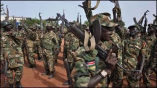 Dakarun SPLA a garin Bentiu